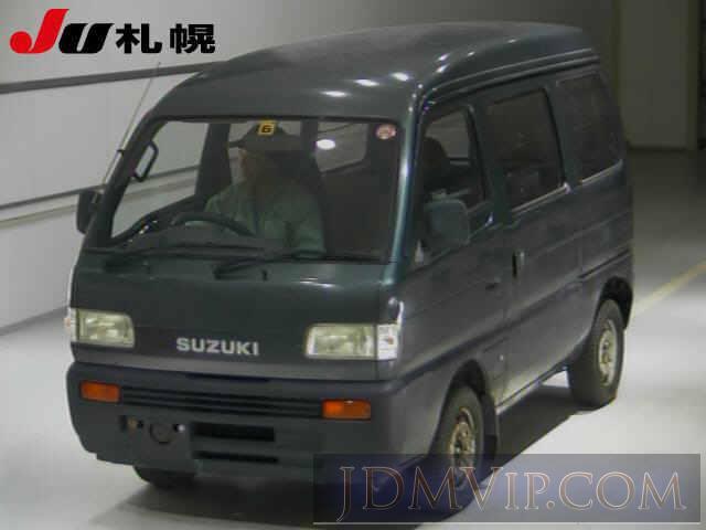 1993 SUZUKI EVERY 4WD DF51V - 5070 - JU Sapporo