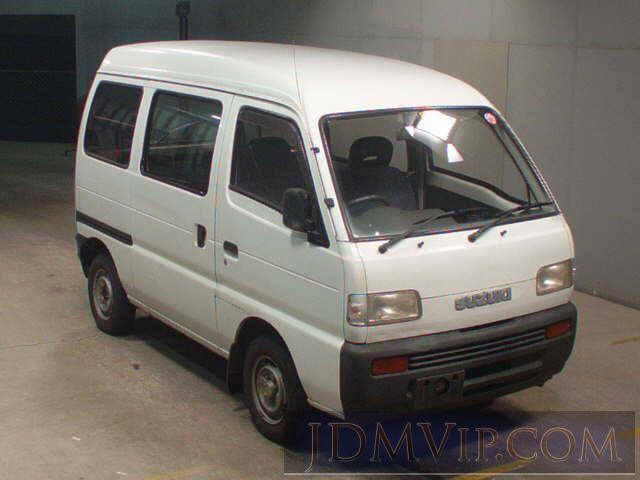 1994 SUZUKI EVERY 4WD_ DF51V - 8421 - JU Fukuoka