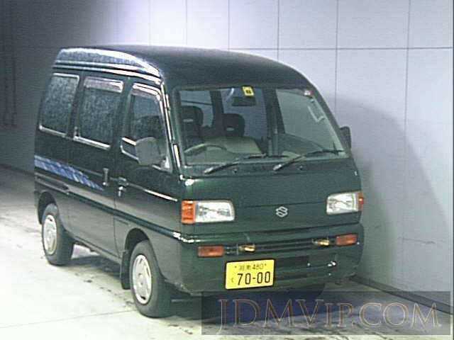 1997 SUZUKI EVERY _4WD DF51V - 3558 - JU Kanagawa