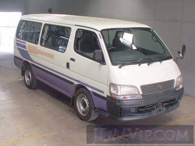 1997 TOYOTA HIACE  RZH111G - 9403 - JU Fukuoka
