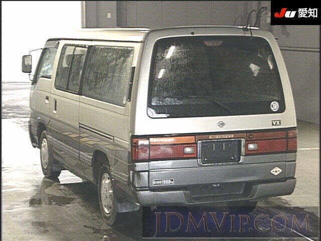 1998 NISSAN CARAVAN D-VX CWGE24 - 5037 - JU Aichi