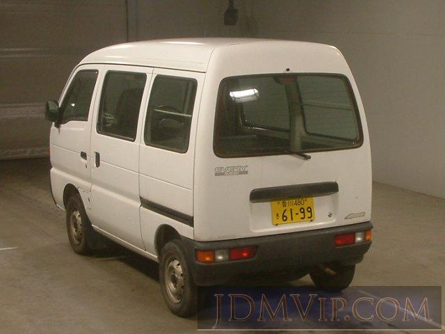 1998 SUZUKI EVERY 4WD DF51V - 7802 - TAA Shikoku