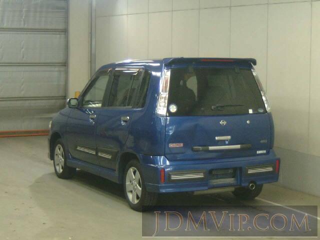 2000 NISSAN CUBE X ANZ10 - 4156 - NAA Nagoya