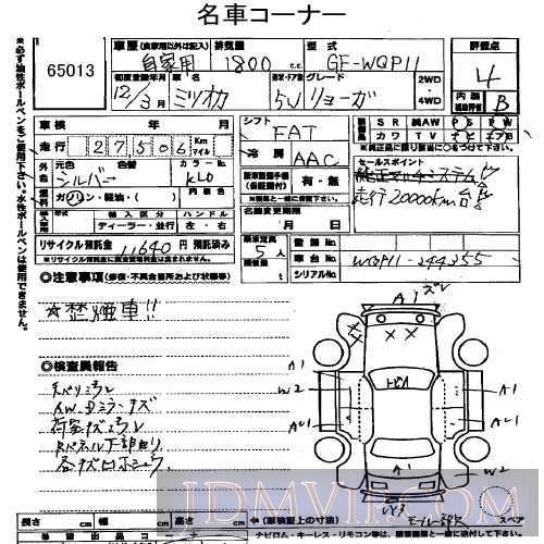 2000 OTHERS MITSUOKA  WQP11 - 65013 - USS Tokyo