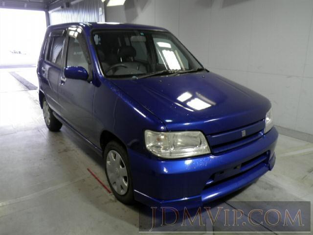 2001 NISSAN CUBE 4WD ANZ10 - 8537 - Honda Hokkaido