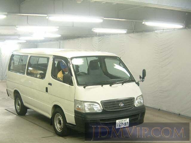 2001 TOYOTA HIACE DX RZH111G - 4194 - JAA