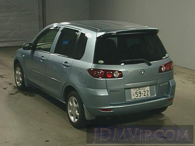 2004 MAZDA DEMIO 4WD DY5R - 377 - TAA Hiroshima