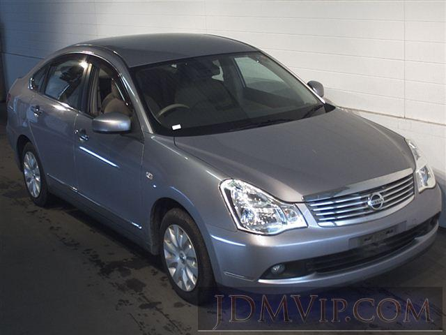 2007 NISSAN BLUEBIRD SYLPHY 15M-FOUR_4WD NG11 - 6074 - SAA Sapporo