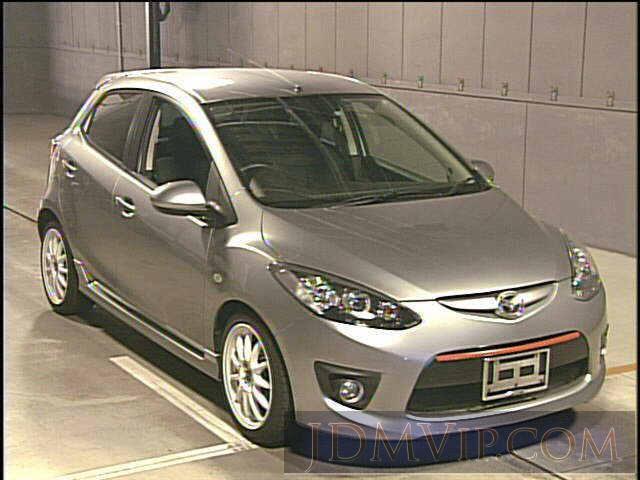 2010 MAZDA DEMIO  DE5FS - 30073 - JU Gifu