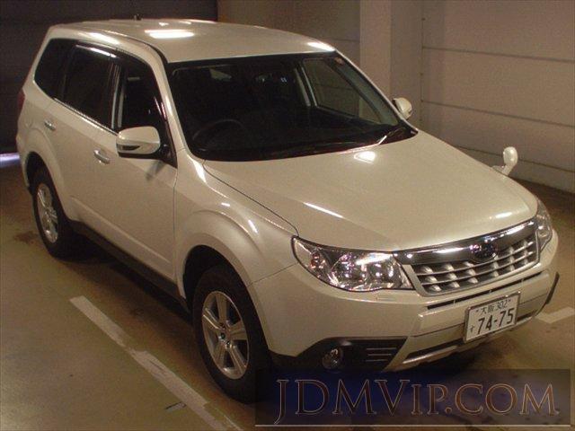2011 SUBARU FORESTER 2.0XS SHJ - 8615 - TAA Kinki