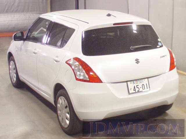 2011 SUZUKI SWIFT XG ZD72S - 2159 - BCN