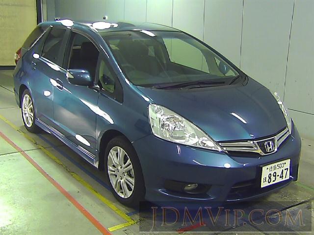2012 HONDA FIT SHUTTLE 15X_L GG7 - 5048 - Honda Kansai