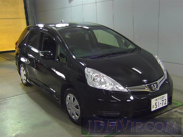 2012 HONDA FIT SHUTTLE 15X_S GG7 - 5035 - Honda Kansai
