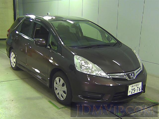 2013 HONDA FIT SHUTTLE 15X GG7 - 5039 - Honda Kansai